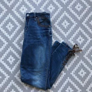 Lace Detailed Jeans